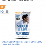 amazon bestseller for nurses who are stressed